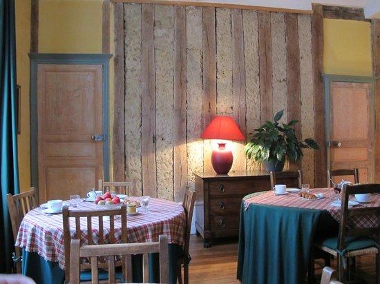Maison Sainte Barbe : sala colazione