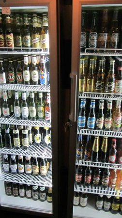 Cheers: our beer selection