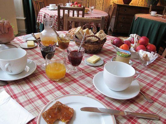Maison Sainte Barbe : colazione