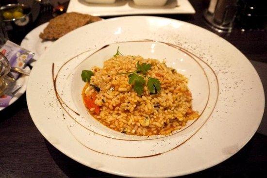 Publico: Delicious seafood risotto