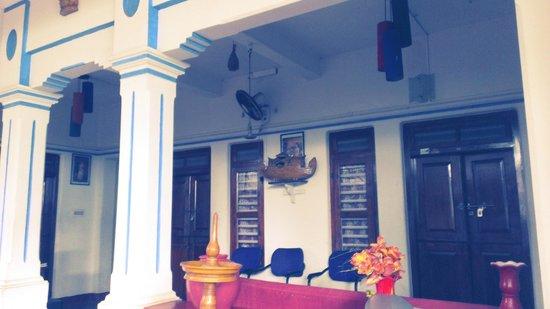 Ashtamudi Homestay: the exterior