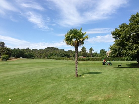 Golf du Luberon: Le putting green