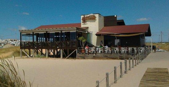 Linda The Beach Bar : view from the beach