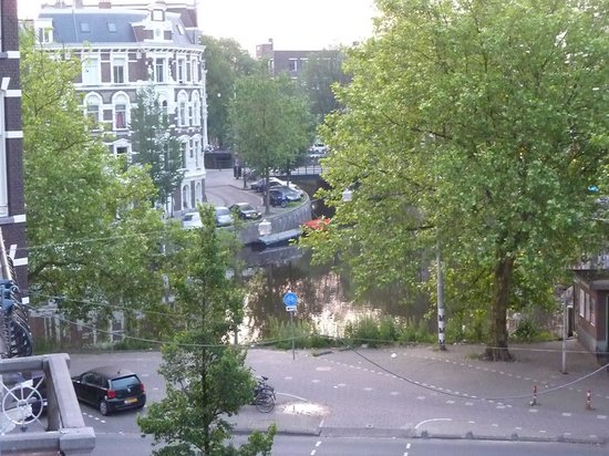 Hotel d'Amsterdam: View from our small balcony.