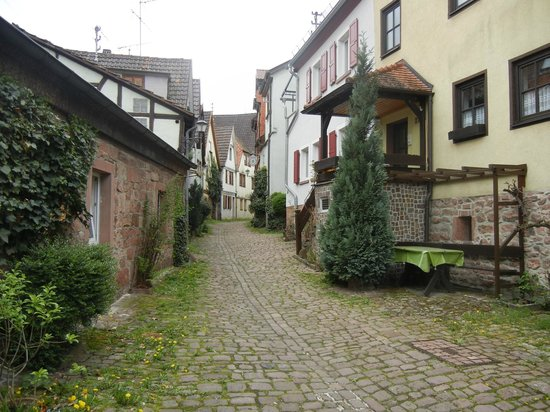 Walking down old streets picture of lohr am main lower for Heimbach lohr am main