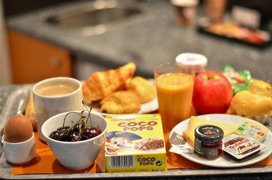 Novotel Suites Montpellier : petit dejeuner