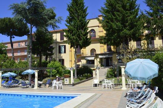 Hotel Delle Palme: View of the hotel rear