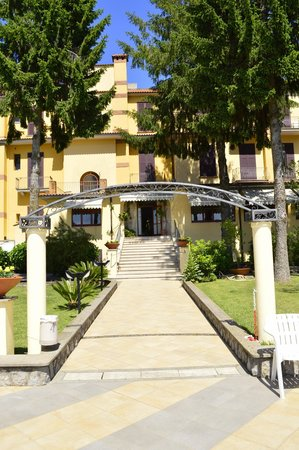 Hotel Delle Palme : Rear entrance