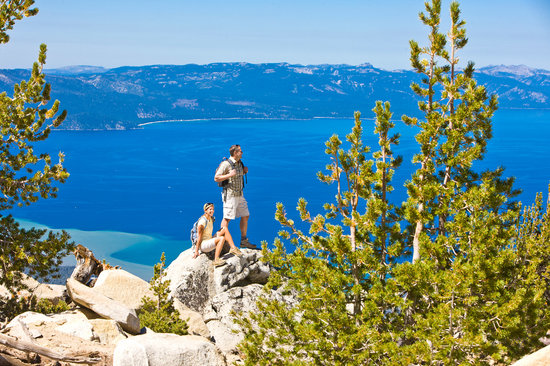 Lake Tahoe (California), CA: Hiking Tahoe South