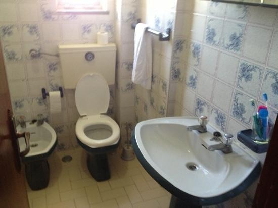 Apartamentos Clube dos Arcos: bathroom untouched since 60/70s