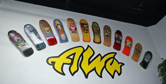 Skateboarding Hall of Fame and Museum : Tony Alva display