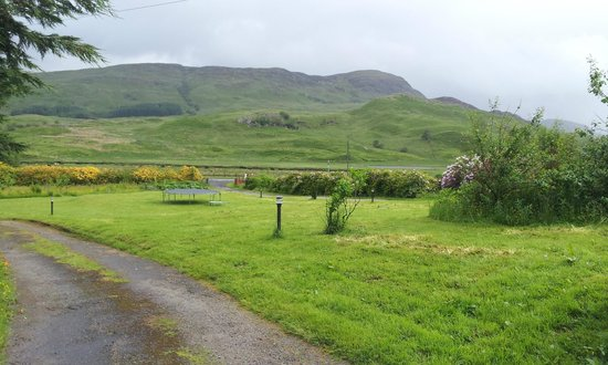 Inverardran Guest House: View from the bedroom