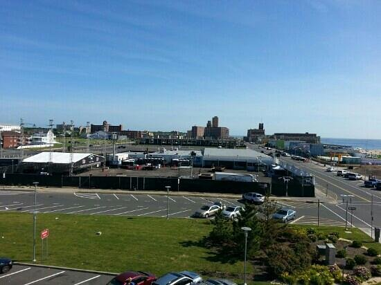 Empress Hotel: View of Stone Pony from 3rd floor room.