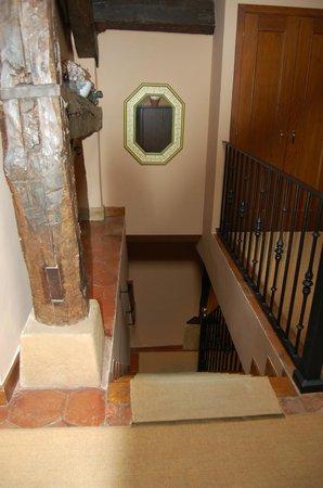 Hotel Obispo: escaleras