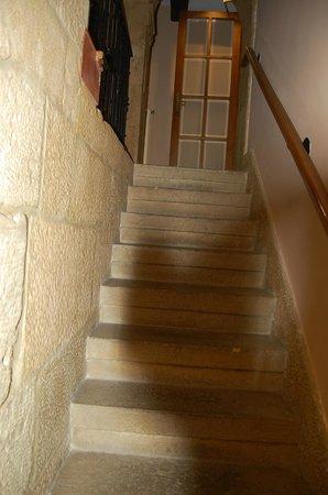 Hotel Obispo : escaleras