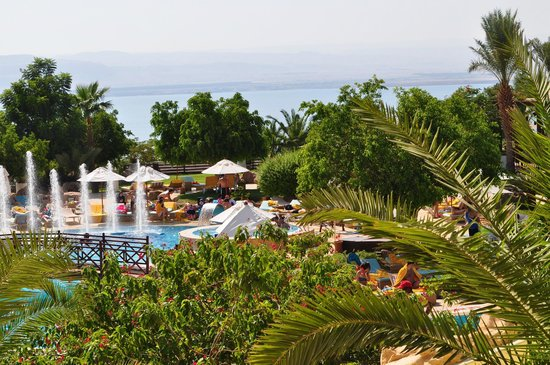 Dead Sea Marriott Resort & Spa: Adults pool