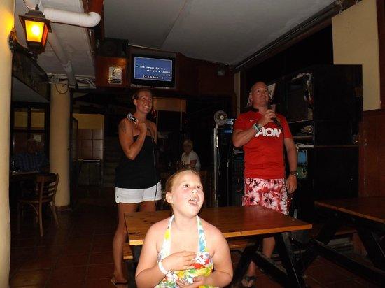 Talk of the Town: Karaoke night!