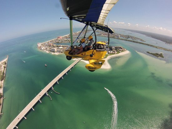 Sky Surfing Scenic Intro Flights: Amazing views!