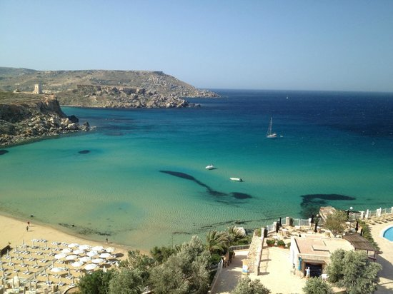 Radisson Blu Resort & Spa, Malta Golden Sands: our view from the hotel room*****