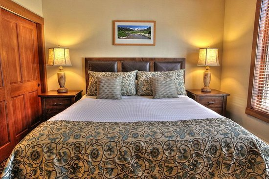 The Village At Squaw Valley: Our 1BR condominium units have been recently upgraded with new mattresses, bedding, flat screen
