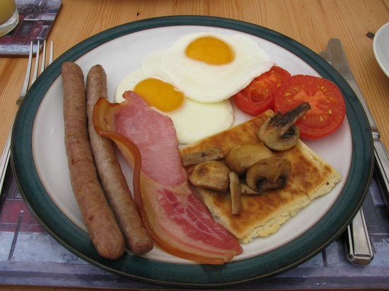 Birling House B & B: full Kent breakfast
