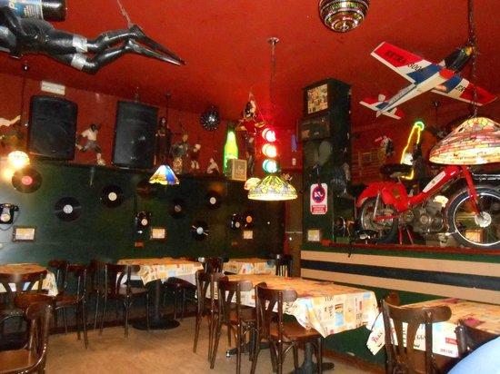 El Peletazo: Interni molto caratteristici