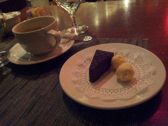 Davio's: chocolate treats!!