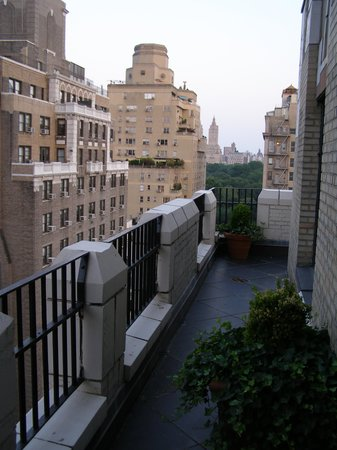 The Carlyle, A Rosewood Hotel: View from Terrace of Suite 1407