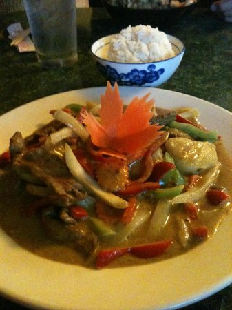 Bangkok Tokyo: Thai yellow curry