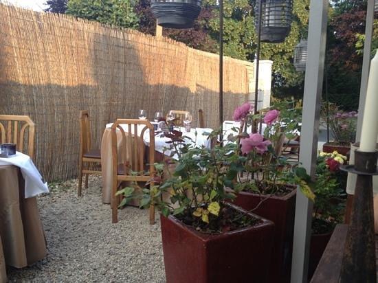 Restaurant La Salamandre: terrasse partio
