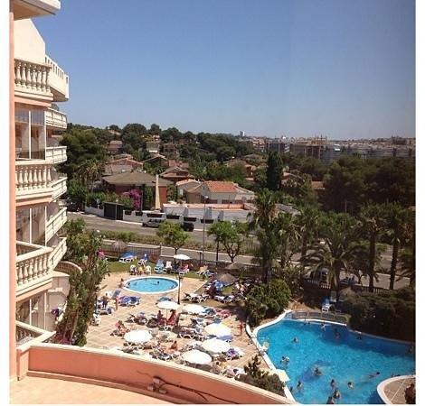 Hotel-Aparthotel Dorada Palace: view