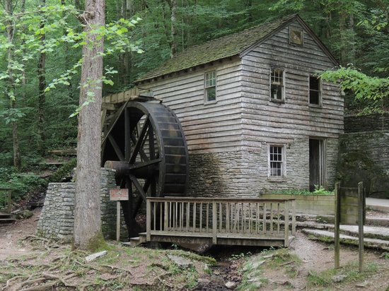 Norris Dam State Park: Grist mill