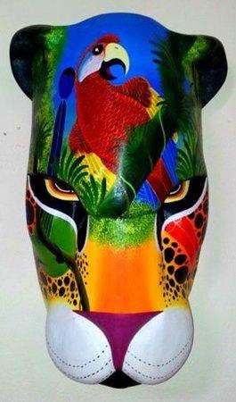 Wood & Art Gallery: Mascara Boruca Ecologica