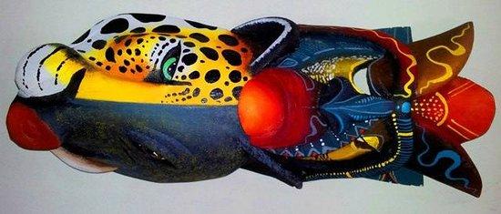Wood and Art Gallery: Borucan mask