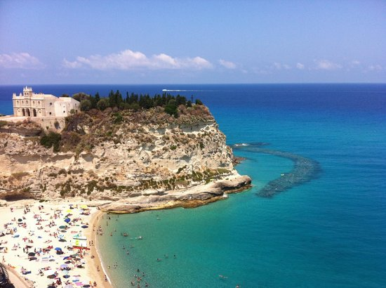Strand von Tropea: Spiaggia mare piccolo