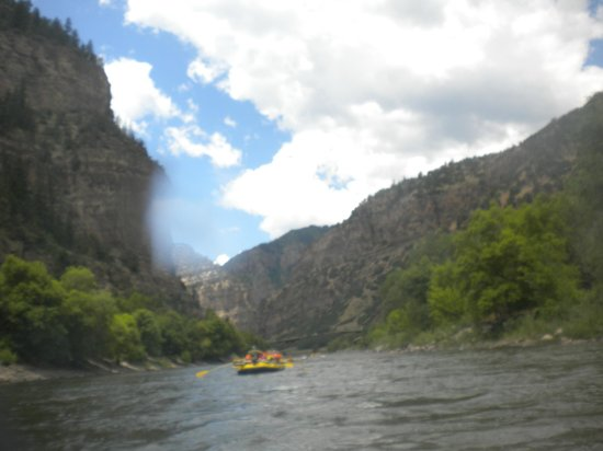 Whitewater Rafting, LLC: View from the river