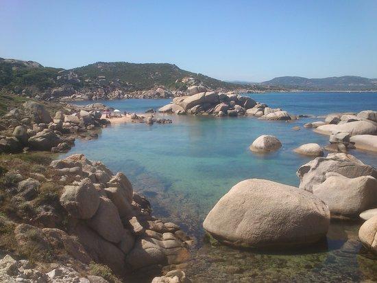 Palau, İtalya: Talmone desde el final