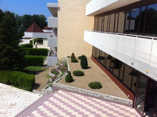 Lastochka Hotel: Центральный вход