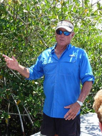 Jungle Erv's Everglades Airboat Tours: Captain Johnny