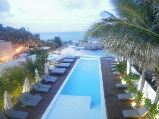 Hotel Secreto: Pool area  - July 2011