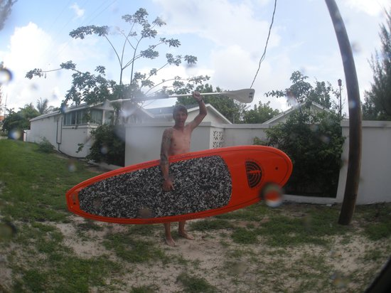 Cayman Stand Up Paddle Co: Great Boards even in the rain !