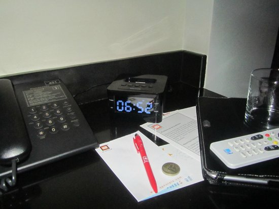 qp Hotels Arequipa: Ipod dock