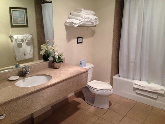 Beach House Inn and Suites: bathroom