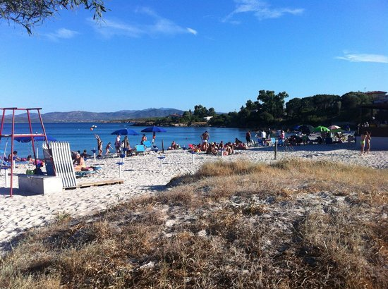 Hotel Mare Blue: La playa que está a 10 metros del hotel