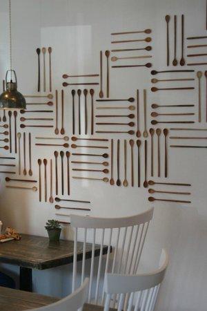 Persephone Bakery : Interior decor