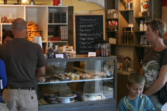 Persephone Bakery: Just a portion of the amazing baked goods
