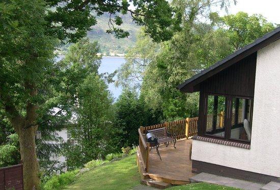 Seafield House Bed & Breakfast: Overlooking Loch Linnhie