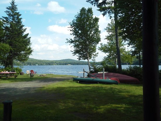 """Tall Timber Lodge: View from """"Beech"""" cabin #3"""