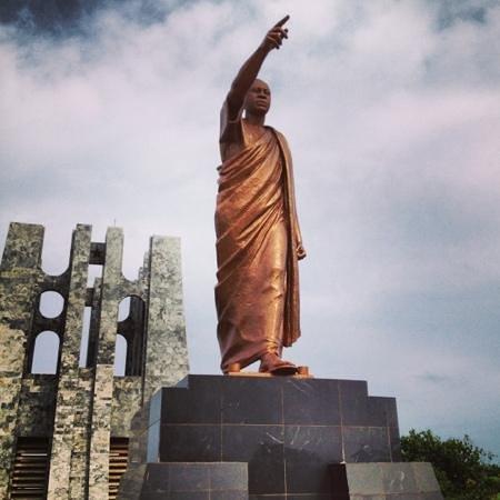 Kwame Nkrumah Memorial Park : founding father of Ghana