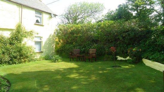 Scorrier, UK: Outside Lawn